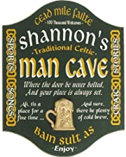 Irish Man Cave Manchester Design Personalized 18x14