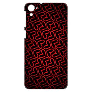 a AND b Designer Printed Mobile Back Cover / Back Case For HTC Desire 826 (HTC_826_3D_2406)