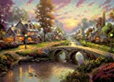 Gibsons Puzzle - Sunset on Lamplight Lane (1000 pieces)