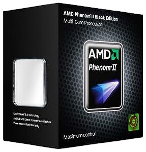 AMD Phenom II X4 955 Black Edition Quad-Core Processor - 3.20 GHz,8MB Cache,Socket AM3,125W,45 nm,3 Year Warranty,Retail Boxed