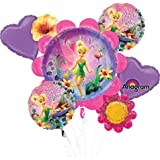 Tinkerbell Birthday Bouquet Of Balloons