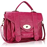 Cross Body / Shoulder Fashion Satchel Bag Pink