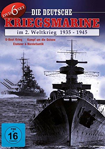 Die Deutsche Kriegsmarine im 2. Weltkrieg 1935 - 1945 ( 6 DVD BOX )