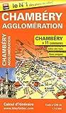 echange, troc Blay-Foldex - Plan de Chambéry et de son agglomération (échelle : 1/12 000)