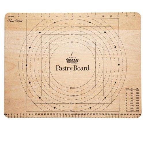 Kitchen-Craft-Planche-pour-ptisserie-en-bois-avec-mesures-45-x-35-cm