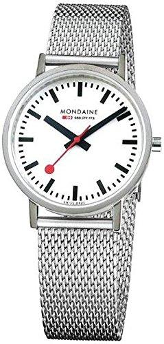 Mondaine Evo Sapphire A660.30314.11SBM.S Reloj de Pulsera para hombres Clásico & sencillo