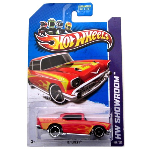 57 Chevy '13 Hot Wheels 196/250 (Red) Vehicle - 1