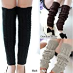 Outdoortips Fashion Warm Cable Knit L...
