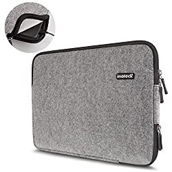 Inateck Universal 13-13.3 Inch Felt Laptop Sleeve Case Bag for 13-Inch Laptop/ Ultrabook/ Notebook/ Netbook/ MacBook, Gray