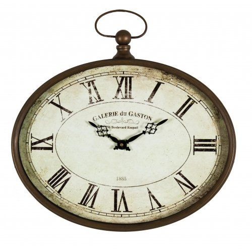Vintage Style Oval French Wall Clock