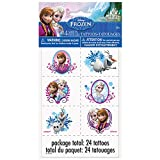 Disney Frozen Temporary Tattoo Sheets, 4ct
