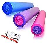 DB Praise フォームローラー Foam Roller 4色 健康器具 ローラー 効果的なスポーツトレーニング (Blue)