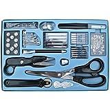 kit de costura profesional de 143 piezas - tijeras, extractor de costura, agujas para máquinas de coser, etc [version:x7.4] by DELIAWINTERFEL