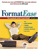 FormatEase, Version 4.0: Paper and Reference Formatting Software (Formatease: Paper & Reference Formatting Software)