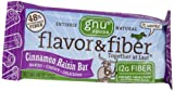 Gnu Fiber Love Bars (Formerly Flavor and Fiber), Cinnamon Raisin, 25.4 oz, 16 ct