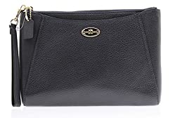 Coach F53417 IMMID MORGAN CLUTCH 24 IN PEBBLE LEATHER