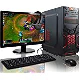 ADMI GAMING PC PACKAGE: Powerful Desktop Computer, 21.5 Inch 1080p Monitor, Keyboard & Mouse Set (PC SPEC: AMD A6-6400K 4.1GHz Dual Core Processor with Radeon HD 8470D Graphics, USB 3.0, 500W PSU, 1TB Hard Drive, 8GB RAM, 24 x DVDRW Drive, Wifi, No Operating System)