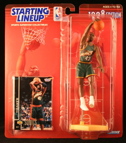 1998 NBA Starting Lineup - Vin Baker - Seattle Supersonics - 1