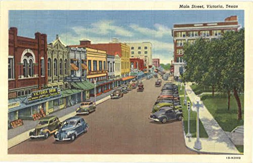 Main Street in Victoria, Texas