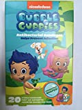 Adorable Bubble Guppies Shaped Adhesive Bandages (20 ct) For Kids Featuring Bubble Guppies Characters| Latex Free, Individually Wrapped With Protective Antibacterial Pad | Assorted Fun Prints