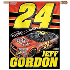 Jeff Gordon 2013 27 x 37 Vertical Banner Flag by WinCraft