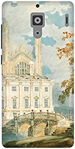 The Racoon Lean Clare Hall and King's College Chapel, Ca hard plastic printed back case / cover for Xiaomi Redmi
