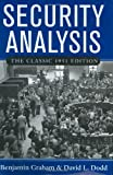 Security Analysis: The Classic 1951 Edition (0071448209) by Graham, Benjamin