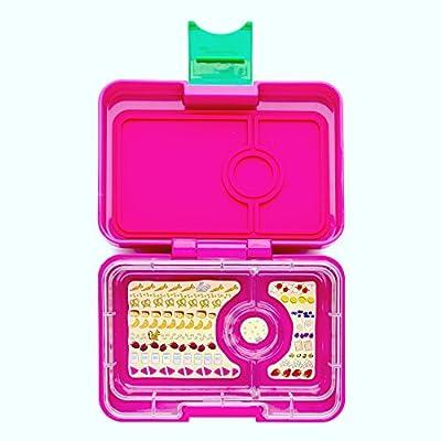YUMBOX MiniSnack Leakproof Snack Box (Cherie Pink)
