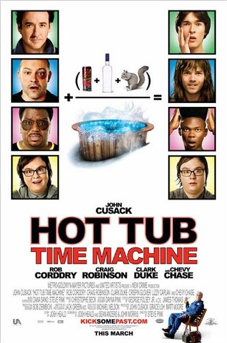 HOT TUB TIME MACHINE 11x17 INCH PROMO MOVIE POSTER