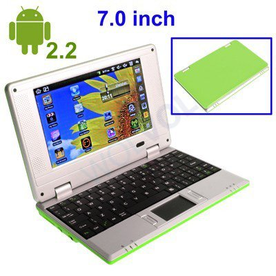 Wolvol Android Free Games Wifi  Android  Green Lime Laptop Computer Netbook