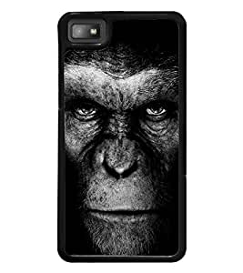 Ape Face 2D Hard Polycarbonate Designer Back Case Cover for BlackBerry Z10