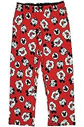 Disney Mickey Mouse Women's Red Sleep Lounge Pants