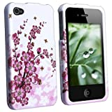 MYBAT Premium Hard Design Crystal Case Cover Compatible with Apple iPhone 4th Generation