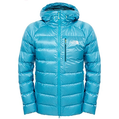 North Face Hooded Elysium Down Jacket Enamel Blue