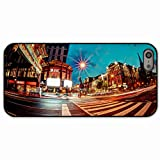 Diy Apple iPhone 5 5S Case Design Personalized Back Cover Customized In Chinatown in washington 16723 Black