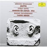 Stockhausen: Gruppen, Kurtag: Grabsteinfur Fur Stephan, Stelle, Claudio Abbado