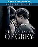 Fifty Shades of Grey (Unrated Blu-ray + DVD + DIGITAL HD + UltraViolet)