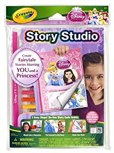 Crayola Story Studio Fairy Tale Maker Princesses