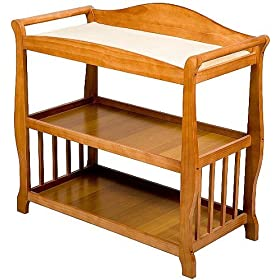 Superior Delta Childrens Tyson Changing Table   Butterscotch / Oak: Baby