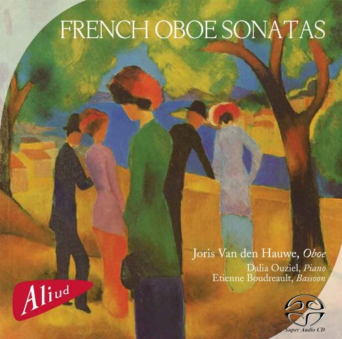 SACD : VAN DEN HAUWE / OUZIEL - French Oboe Sonatas