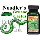 Noodler's Ink Fountain Pen Bottled Ink, 3oz, Eel Greune Cactus