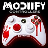 Modiify Custom Xbox 360 Wireless Controller (Zombies Blood Red Bullet)