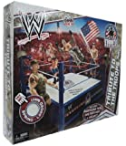 Mattel WWE Wrestling Fan Central Exclusive Tribute To The Troops Ring Includes American Flag, Military Vest Helmet!