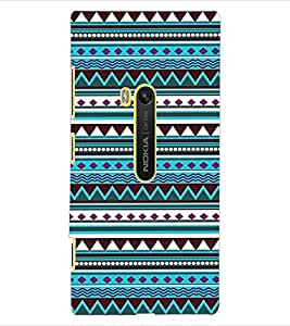 ColourCraft Tribal Pattern Design Back Case Cover for NOKIA LUMIA 920
