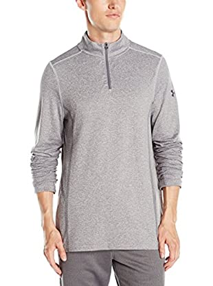 Under Armour Camiseta Manga Larga Ua Camden Seamless 1/4 Zip (Gris)