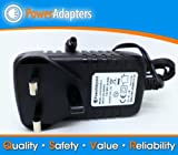 12v Mains 2a ac/dc UK replacement power plug for Roberts Stream 83i DAB Radio