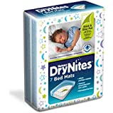 Huggies DryNites Bed Mats - 4 x Packs of 7 (28 Mats)