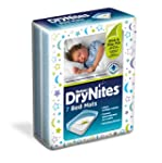 Huggies DryNites Bed Mats - 4 x Packs...