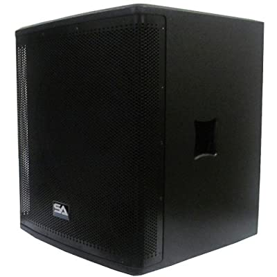 "Seismic Audio - Magma-118S - 18"" Pro Audio Subwoofer Cabinet - 800 Watts RMS - PA/DJ Stage, Studio, Live Sound Subwoofer by Seismic Audio"