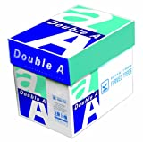 Double A Copy Paper, 8.5x11-Inches Letter Size, 22 Pound, 94 Bright White, 5 Reams, 2500 Sheets (AA 22# 5RM CART)